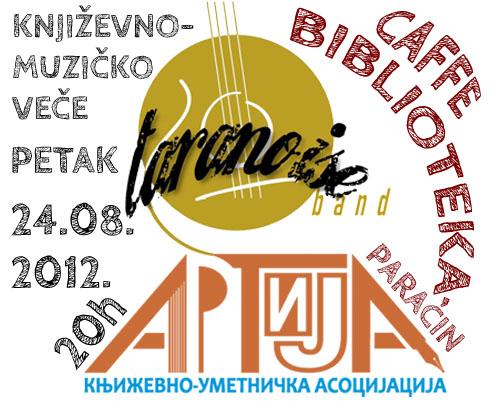KUA ARTIJA - TARANOISE BAND - CAFFE BIBLIOTEKA