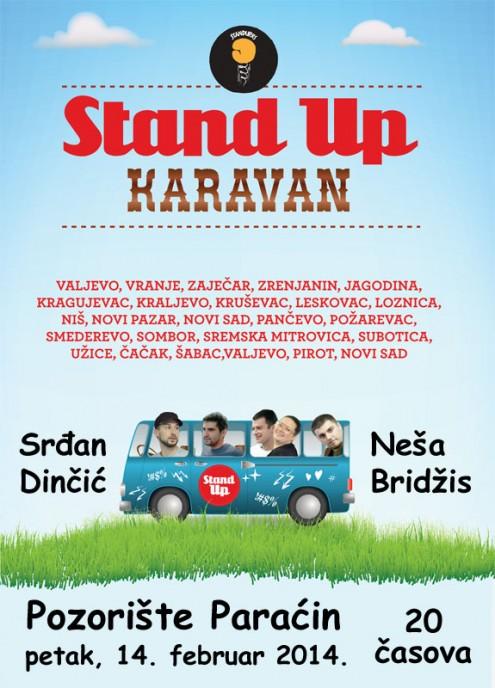 Stand Up karavan u Paraćinu