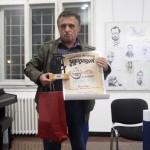 Жикишон 2014 - Живко Ђуза, добитник признања и повеље Жикишон за афоризме