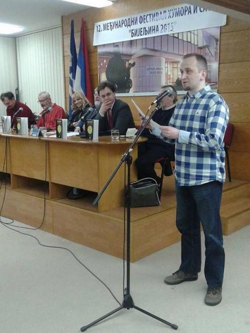 Миленковић у Бијељини 2015.