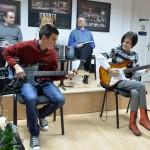 """Музичка подршка промоције, полазници школе гитаре """"GuitArt By Heart"""""""